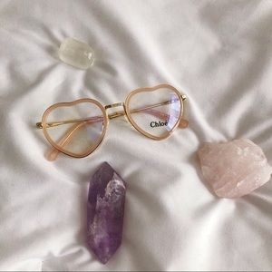 NWT $290 Chloe heart optical glasses